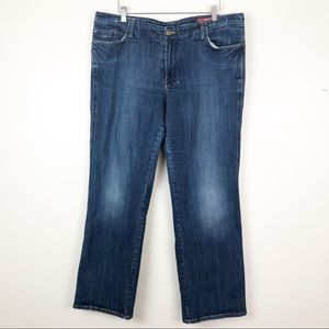 7 for All Mankind l  Plus Size Straight Leg Jeans